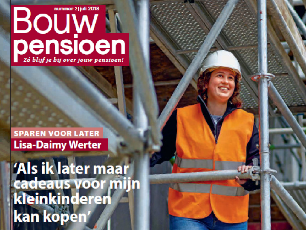Foto bij: Lisa-Daimy Werter in magazine BPF