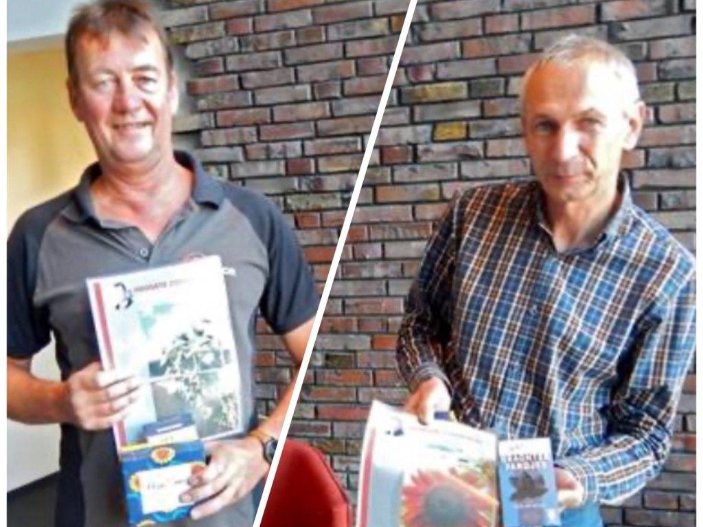 Foto bij: Winnaars AKOR-zonnebloem-wedstrijd