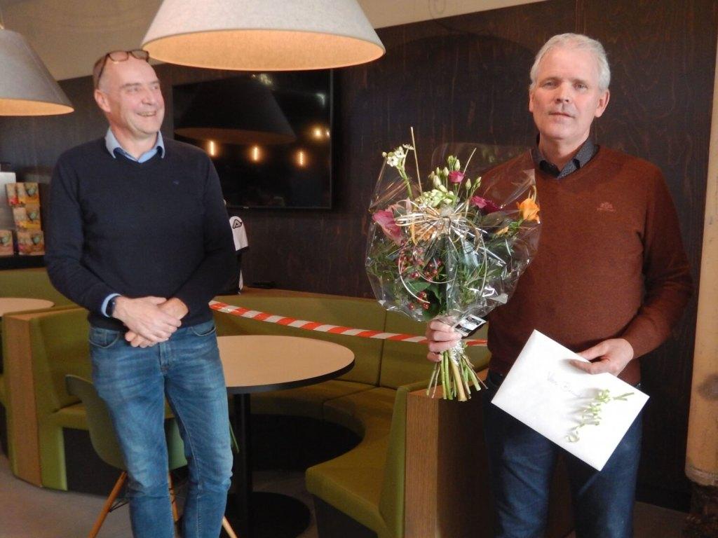 Photo: Berend Baan 40 years at AKOR!