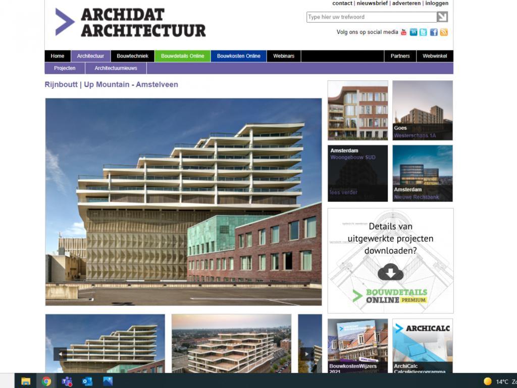 Foto bij: Mooi artikel Up Mountain op Archidat Bouwformatie