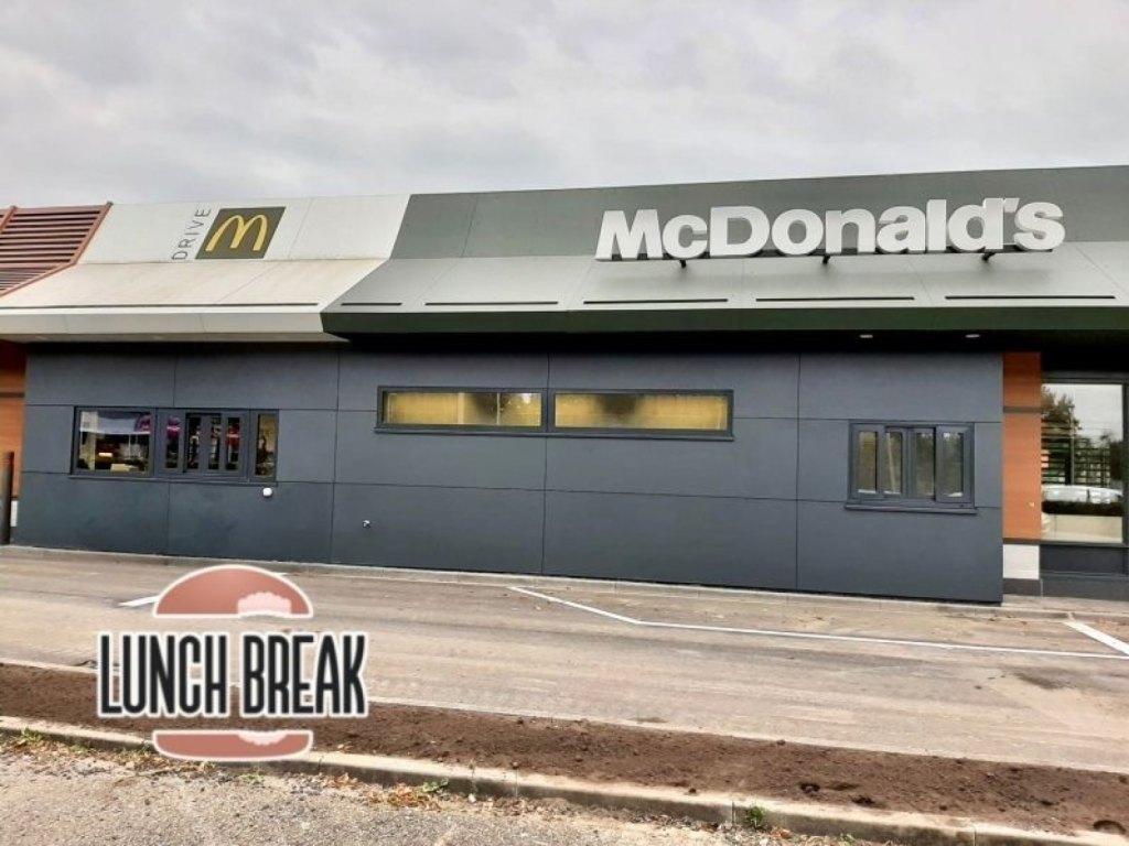Foto bij: Weer een McDonald's klaar!
