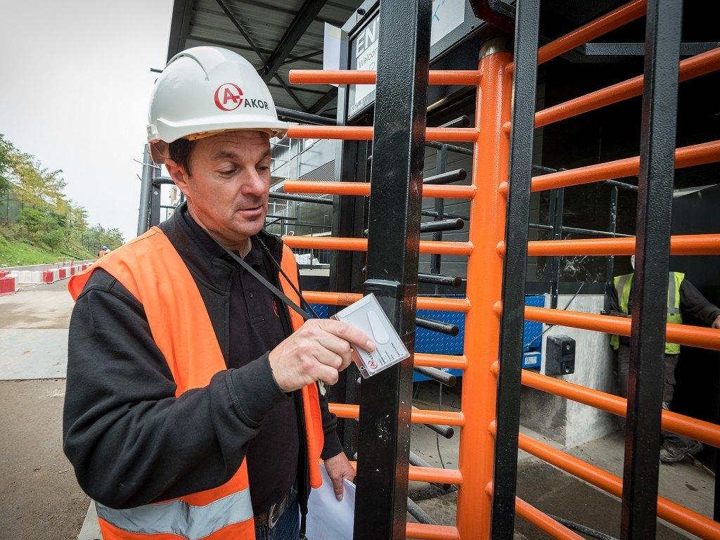 Bild bei:  Sicherheit auf der Baustelle des Primark Metz