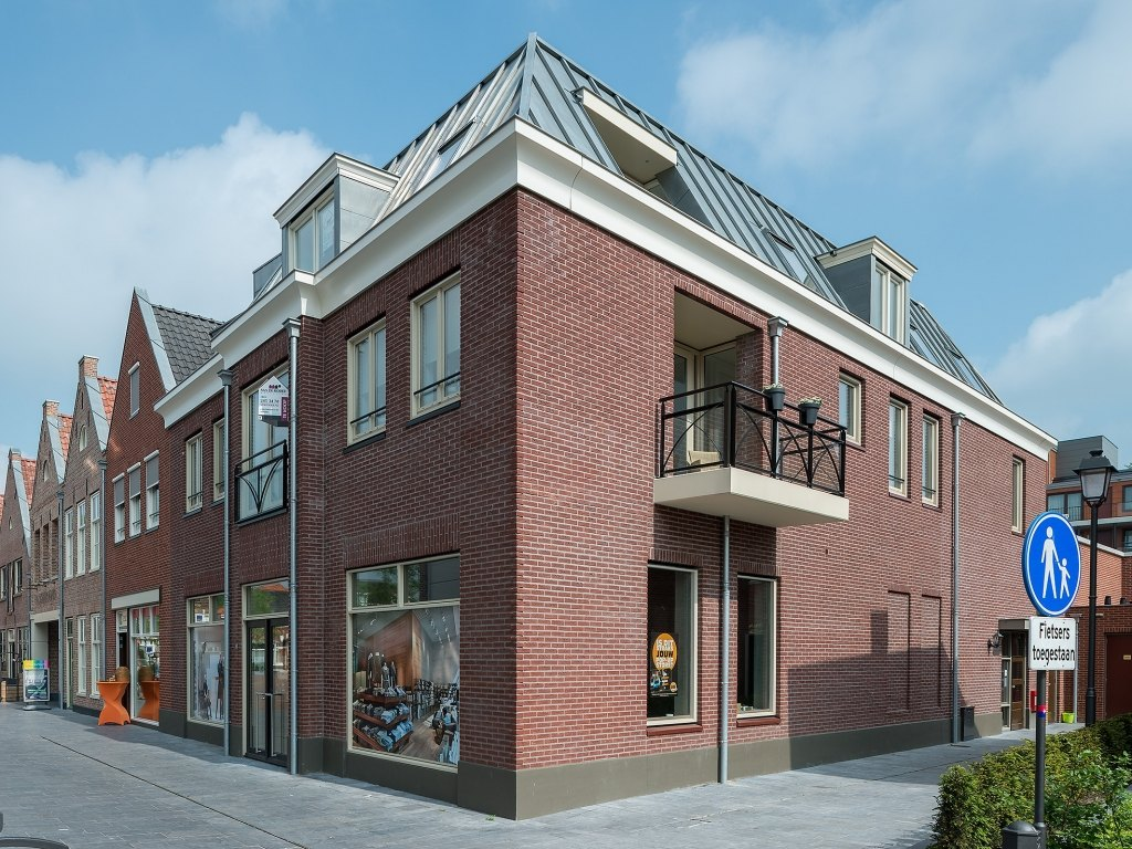 Photo: Multifaceted retail-residence project Oosterpoort