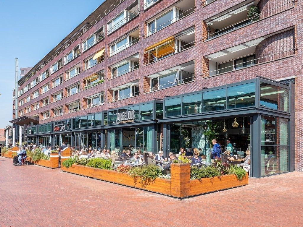 Foto bij: Glazen uitbreidingen horecazaken Stadshart