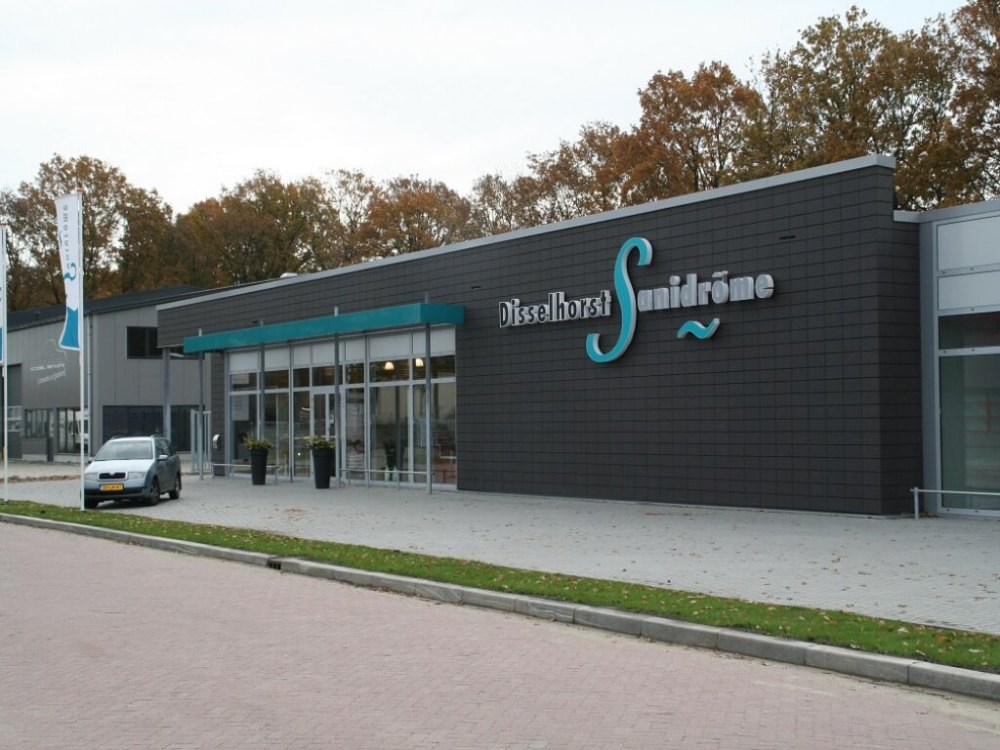 Foto bij: Nieuwbouw bedrijfspand Sanidrome
