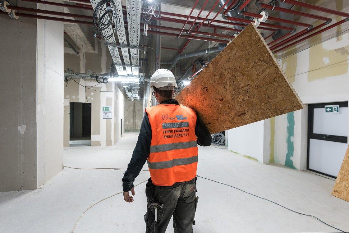 Foto bij: Veiligheid bouwplaats Primark Metz
