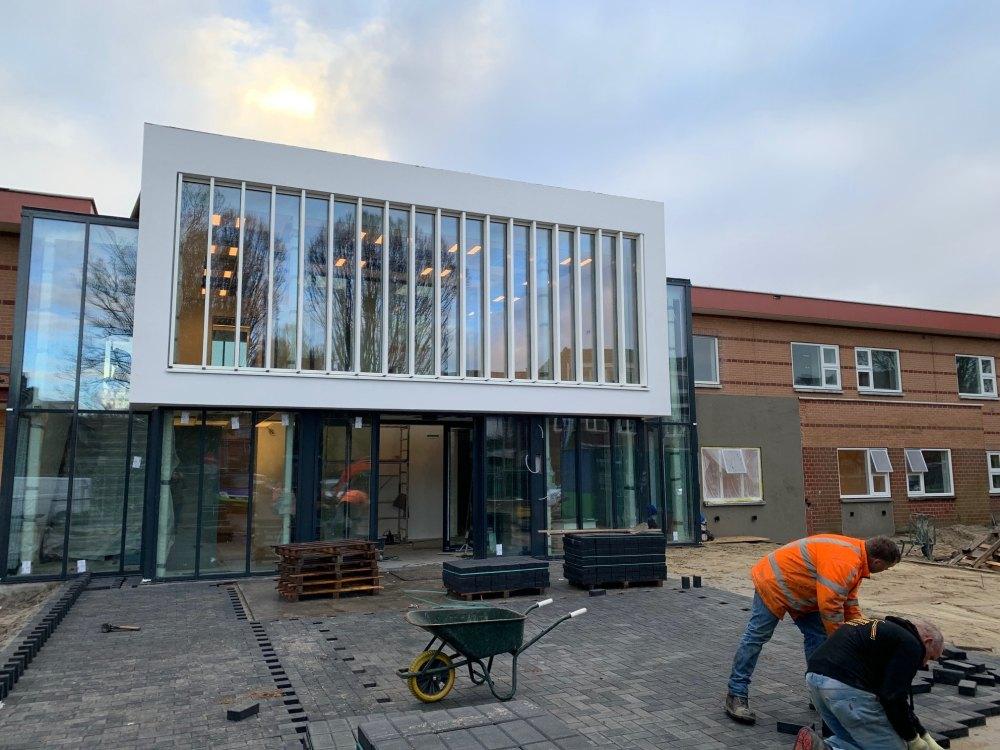 Foto bij: GGZ Schiedam, Kliniek I en II en tussenbouw