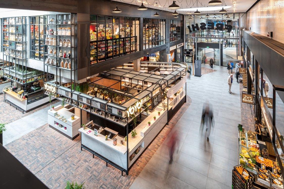 Foto bij:  Versmarkt Fresh! in winkelcentrum Leidsenhage