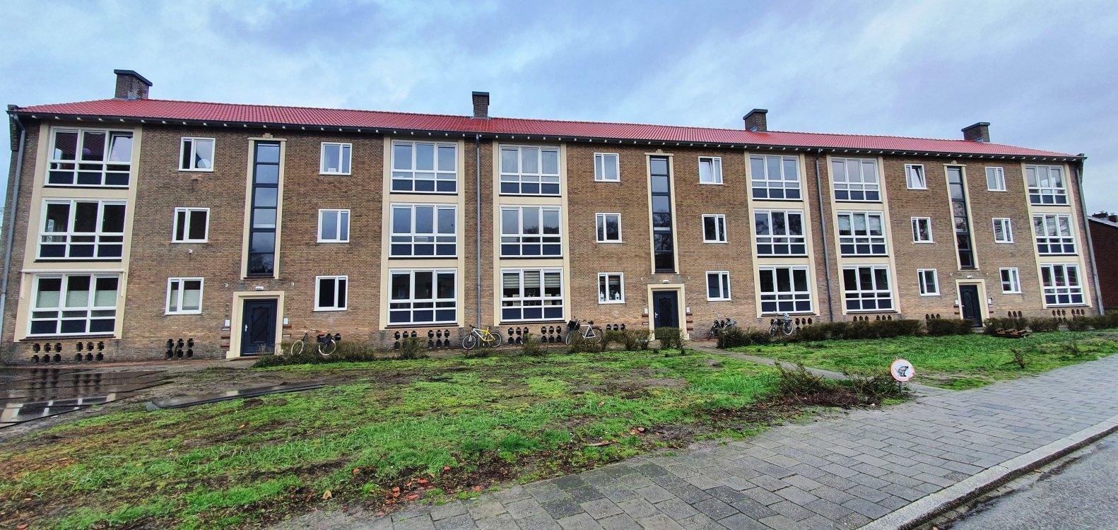 Foto bij: Renovatie 72 woningen Schoolstraat