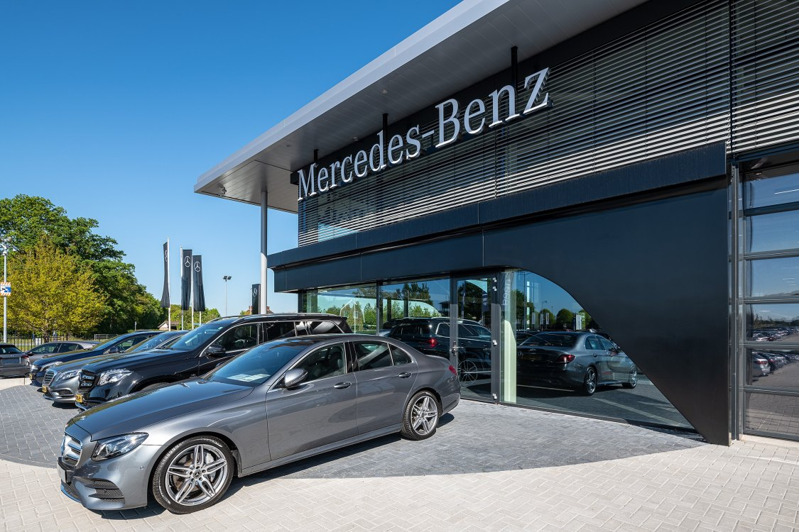 Foto bij: Uitbreiding garage Mercedes Baan