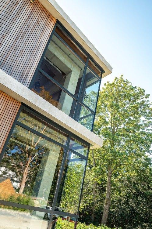 Foto bij: Duurzame nieuwbouw paviljoens Domein Zuiderbosch