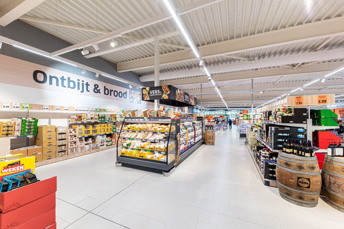 Photo: A nice new Lidl shop!