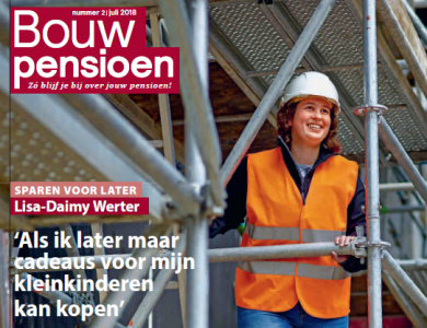 Foto bij:Lisa-Daimy Werter in magazine BPF