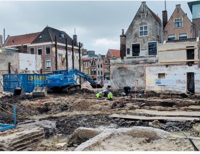 Photo:Archaeology at AKOR project Leiden
