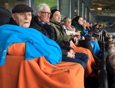 Photo:Elderly people enjoyed themselves in skybox Heracles!