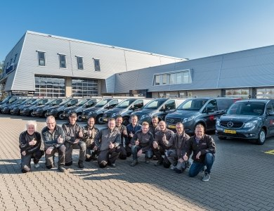 Photo:13 new Mercedes vans for AKOR!