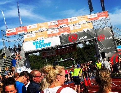 Photo:AKOR at the Rijsserbergloop ánd Triathlon!
