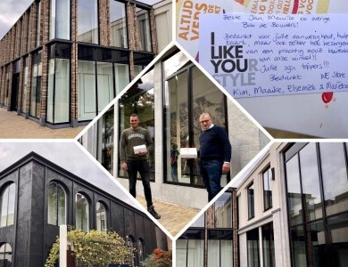 Foto bij:Goede oplevering Weeshuispassage Zwolle!