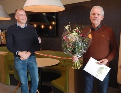 Photo:Berend Baan 40 years at AKOR!