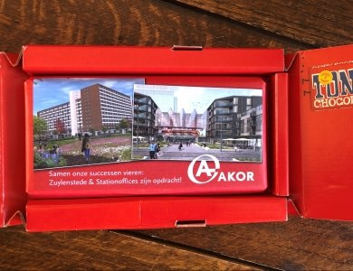 Photo:AKOR chocolate in the mailbox!