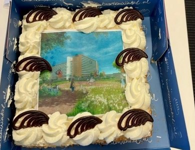Photo:Cake for permit Zuylenstede