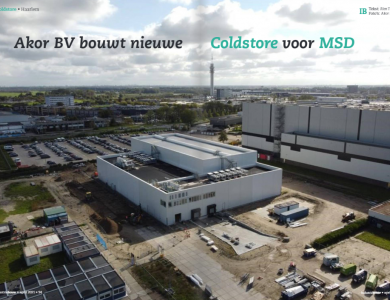 Photo:Coldstore MSD in article Industriebouw