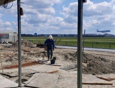 Photo: Rénovation du McDonald's de Schiphol selon le calendrier prévu