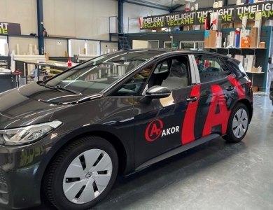 Foto bij:AKOR rijdt elektrisch!