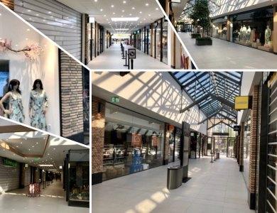 Foto bij:Oplevering Winkelcentrum Brusselse Poort!