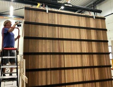 Foto bij:Mooie klus voor onze timmerfabriek!