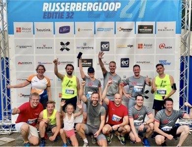 Foto bij:Trots op AKOR-teams Rijsserbergloop!