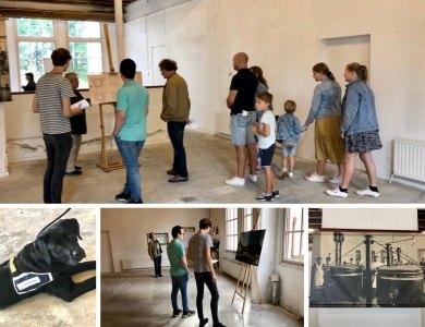 Foto bij:Het Keukengebouw in trek op Open Monumentendagen