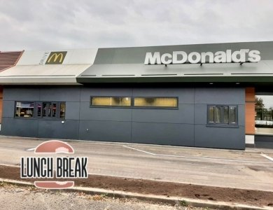 Bild bei: Noch ein McDonald's fertig!